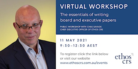 The essentials of writing board and executive – May tickets