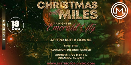 2020 Christmas with Miles tickets