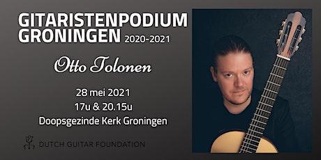 GitaristenPodium Groningen: Otto Tolonen (17:00) tickets