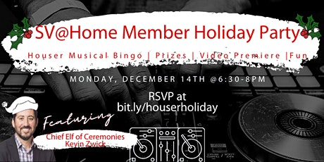 Members' Holiday Party: Houser Musical Bingo Edition tickets