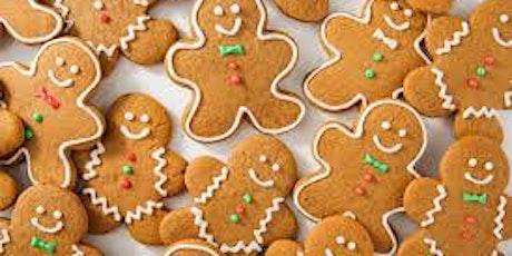 Winter Break Baking class with Tal-  It's gingerbread time!  Virtual tickets