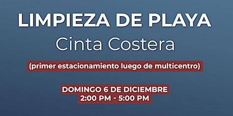 Limpieza de Playa - Cinta Costera - 6 de Diciembre 2020 entradas
