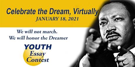 "NAACP DeKalb ""Virtual"" MLK, Jr. Youth Essay Contest and Program tickets"