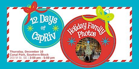 12 Days of CapRiv: Holiday Family Photos tickets