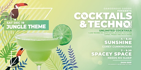 Cocktails & Techno - SUNSHINE & SPACEY SPACE tickets