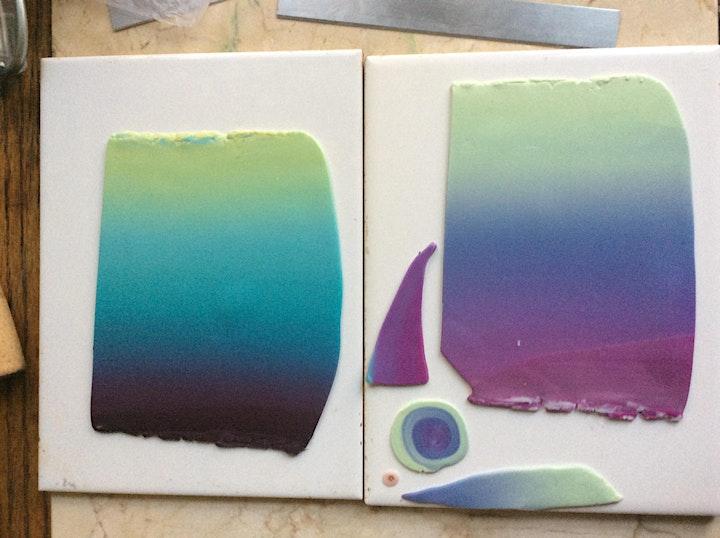 Color My World - Polymer Blending Bash - A Virtual  Rainbow image