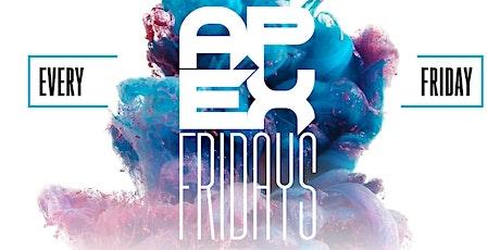 APEX Fridays tickets