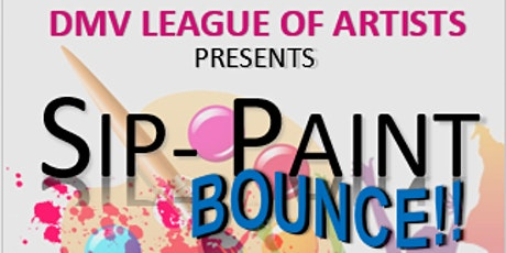 SIP - PAINT & BOUNCE tickets