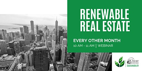 Renewable Real Estate tickets