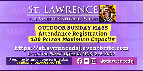 SUNDAY, December 6 @ 9:30 AM Mass Registration boletos