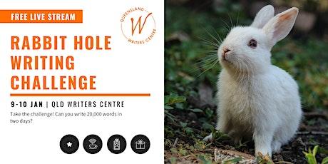 FREE LIVE STREAM: Rabbit Hole Writing Challenge tickets