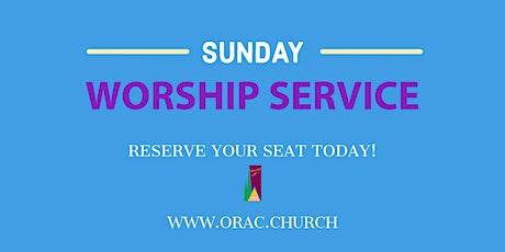 Sunday Worship Service - Week 25 tickets