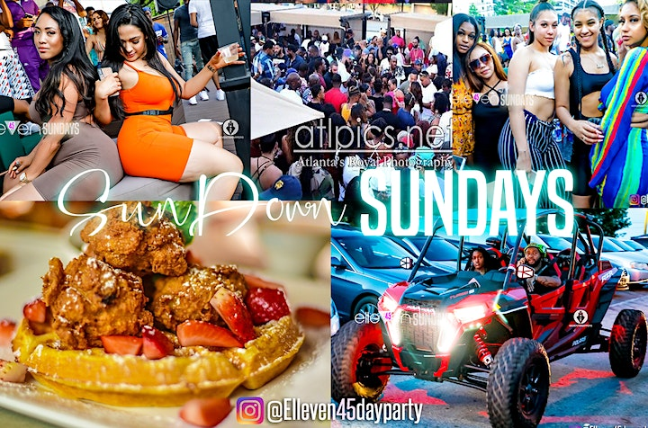SUNDAY'S IN BUCKHEAD DAY PARTY WITH CELEBRITY GUEST (FOOD, MUSIC, HOOKAH) image