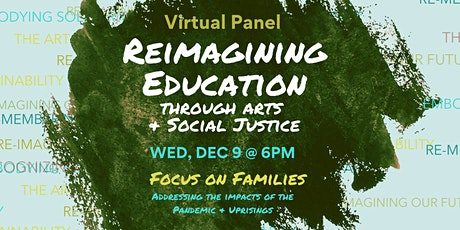 """Reimagining Education"" Virtual Panel tickets"