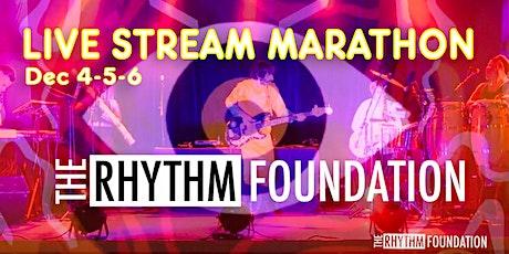 Rhythm Foundation Live stream Marathon tickets