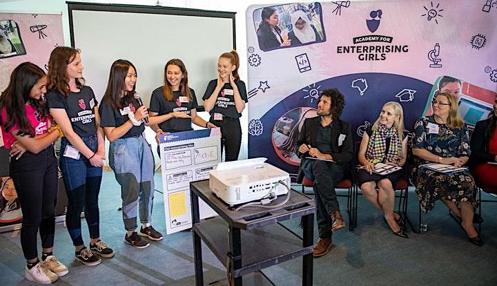 Enterprising Girls Virtual Holiday Workshop: Future of Fashion image