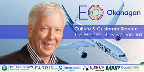 EO Exclusive: Culture & Customer Service, The WestJet Story w/ Don Bell tickets
