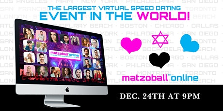 Montreal- The Largest Online Jewish Speed Dating Event in the WORLD billets