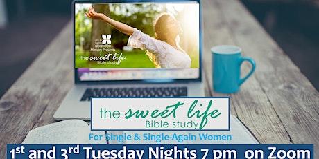 The Sweet Life Online Bible Study for Single/Single-Again Women Jan 5, 2021 tickets