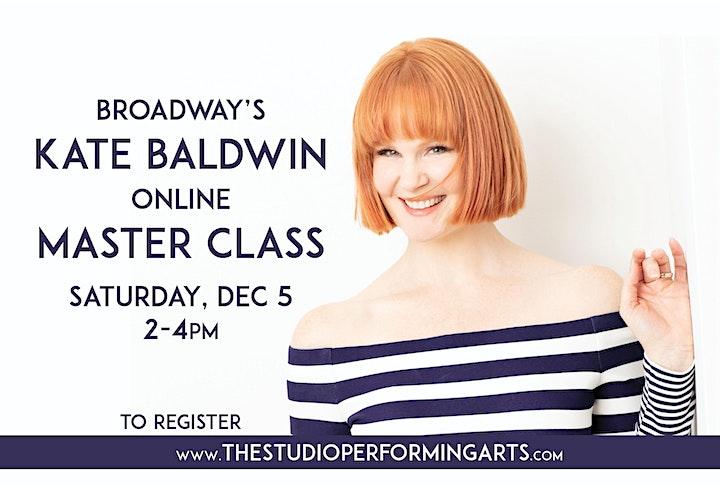 Kate Baldwin Master Class image