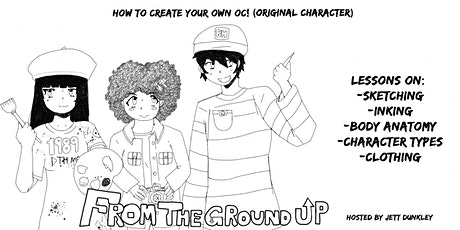"""From the Ground Up: Creating your own character (Body anatomy)"" tickets"