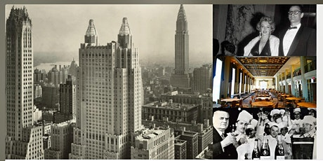 'The Waldorf Astoria New York: Manhattan's Grandest Hotel' Webinar tickets