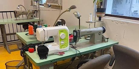 RAC | COUTURE : Présentation de l'atelier + intro machine à coudre billets