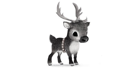 60min Christmas Animal Pencil Sketching - Baby Reindeer @5PM (Ages 7+) tickets