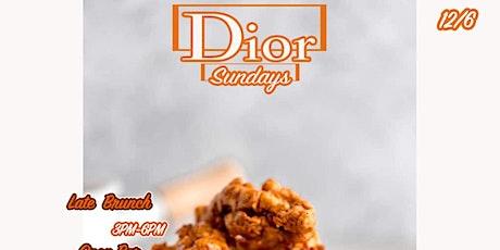 Dior Sundays tickets