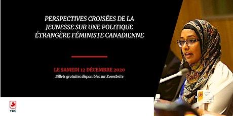 Perspectives croisées de la jeunesse sur une politique étrangère féministe tickets