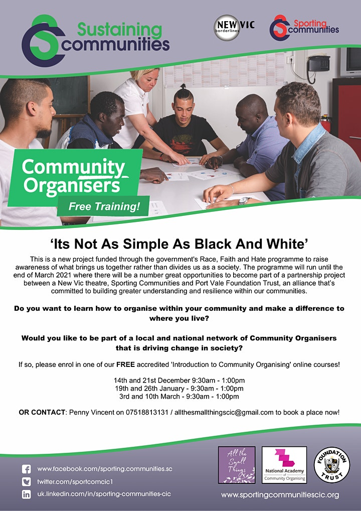 Introduction to Community Organising image