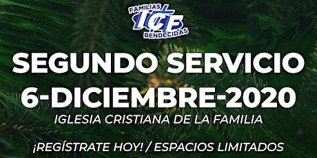 Servicio ICF - 6 de diciembre de 2020  - Segundo Servicio - 11AM tickets
