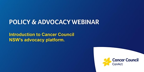 Intro to Advocacy Platform - CanAct Leaders tickets