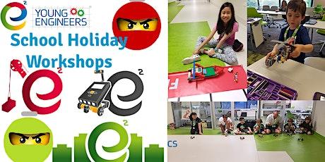 Young Engineers School Holiday Workshop - Bricks Challenge tickets
