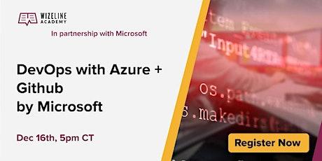 Modern App Development with Azure by Microsoft tickets