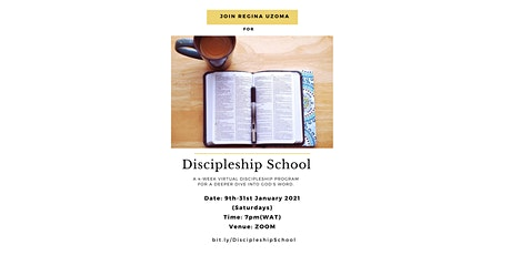 Discipleship School tickets