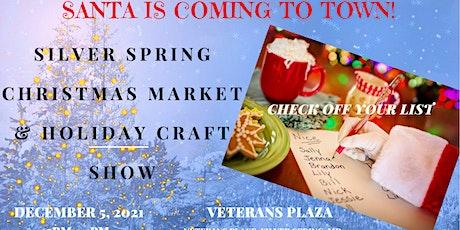 Silver Spring Christmas Market and Holiday Craft Fair entradas