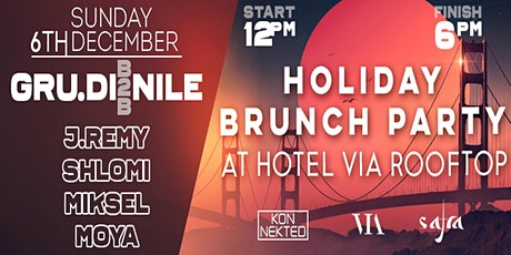 Holiday Rooftop Brunch Party w/ KONNEKTED & SAFRA tickets