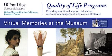 Memories at the Museum - Timken Museum tickets