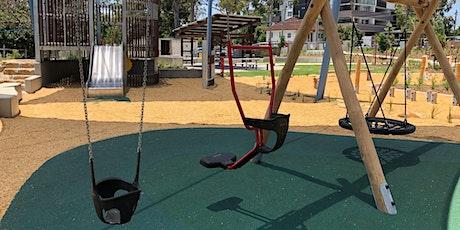 Hanlon Park Playground Opening tickets
