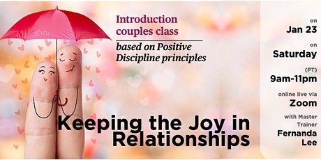 Introduction to Keeping the Joy in Relationships tickets