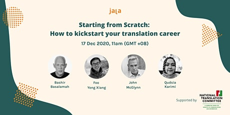 Webinar Panel: Kickstart Your Translation Career tickets