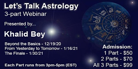 Let's Talk Astrology tickets