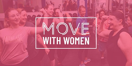 Move With Women - FREE 9 Week Group Exercise Class  -  Orange tickets