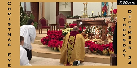 7:00 p.m. Christmas Eve Mass Reservation: Thursday 12/24/2020 tickets