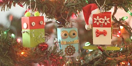 Robot  Christmas Ornaments Workshop tickets
