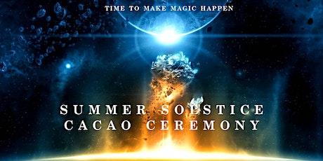 Summer Solstice & 2020 Closing Ceremony, Cacao Medicine, Brisbane tickets