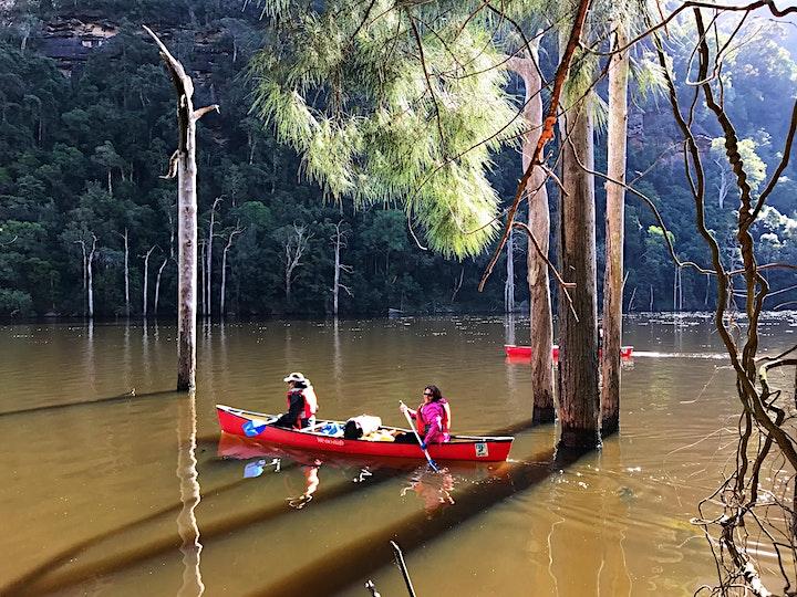 Women's Overnight Canoe Trip: Shoalhaven Gorge image