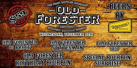 Whisky Row with Old Forester tickets