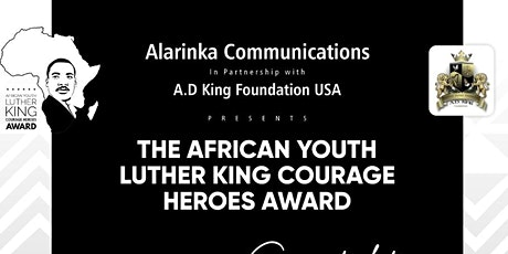 African Young Luther King Heroes Summit tickets